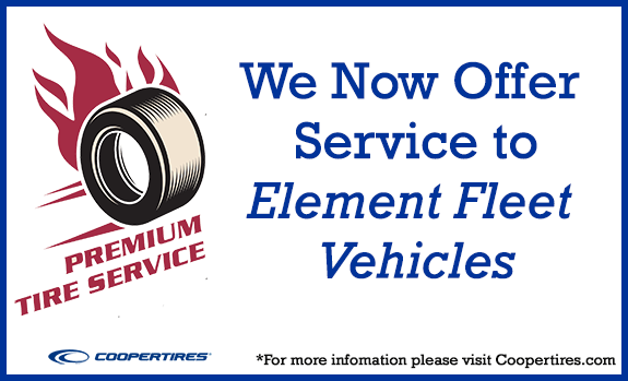 We now offer Service to Element Fleet Vehicles